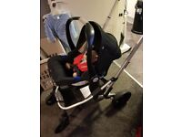 Mothercare Xpedior Travel System Red