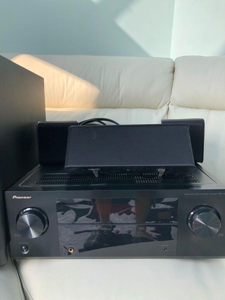 Pioneer Vsx 421 K 51 Av Hdmi Receiver Home Cinema Amplifier And Making Theater Surround Speak