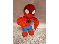 Singing dancing spiderman
