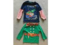 Boys Christmas tops