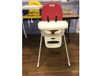 two baby chairs very good condition