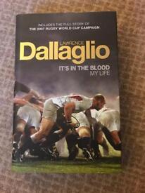 Lawrence Dallaglio book