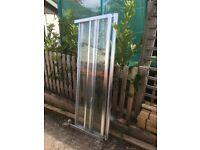 Shower enclosure, tray, Toilet & basin
