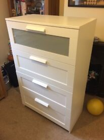 IKEA Brimnes chest of drawers white