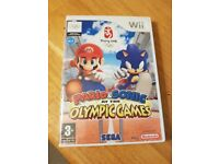 Mario & Sonic Olympic Game - WII