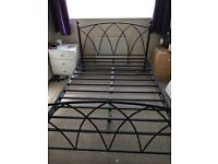 Double bed frame - metal