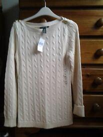 Jumper - Brand new Ralph Lauren jumper, 100% cotton. Size M