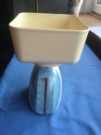 Kitchen scale not new but functioning properly, barely used