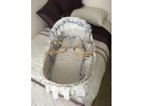 Moses basket. Excellent condition