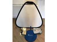 Lastolite Tri-grip Diffuser / Reflector with case & Gold/Silver covers