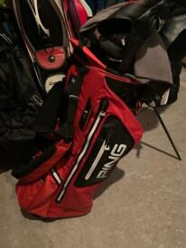 Ping hoofer monsoon stand bag mint condition