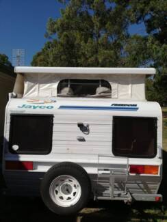 Jayco Freedom Single Axle Pop Top Caravan Double Bed Stove etc Heatherbrae Port Stephens Area Preview