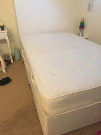 3 quarter divan bed with storage