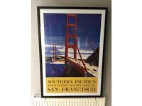 San Francisco picture. Approximately W74cm H104 cm