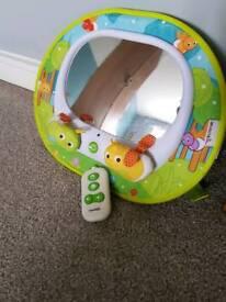 Munchkin rear facing baby car mirror