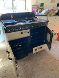 Range style double oven