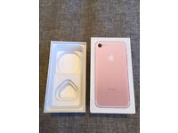 Original APPLE IPHONE 7 128GB Gold Factory Unlocked and No Apple ID Registered