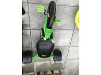 Ride on green machine