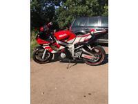 Yamaha R6 15000miles A1 bike