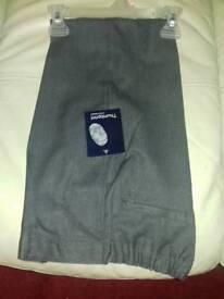 School grey trousers