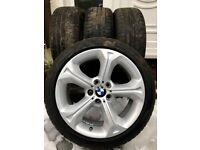 Winter tyres 225/45/18 + BMW wheels
