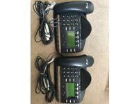 2 x BT Versatility V8 Featurephone+Line cable + PABX MASTER BT45C to PABX RJ45