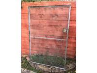 Steel Garden Gate 112 w x 169 h cm