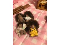 Hedgehog family from sylvanian families