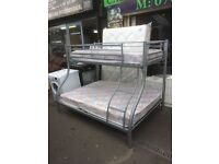 triple bunks with new matts