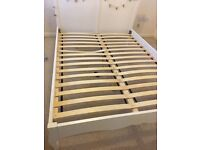 Cream next bedroom king bed dressing table and 2 x bedside tables