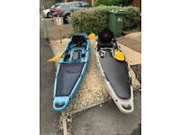Moken 12 sea kayaks