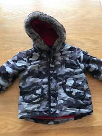Boys Next Winter Coat Age 9-12 Months