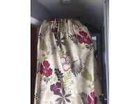 Harlequin fabric curtains