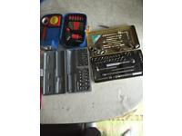 Socket set spanner set job lot £20