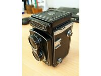 Yashica Model A TLR (medium format) camera
