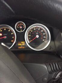 3door Vauxhall Astra 06 plate