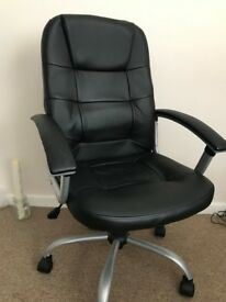 HOME Chicago Leather Effect Adjustable Office Chair (From Argos)