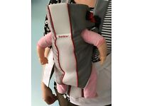 BabyBjorn baby carrier, with winter cover