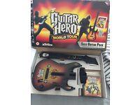 PS3 Guitar Hero World Tour - Game + Guitar controller