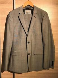Grey men's Topman Suit