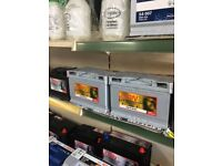 CAR BATTERIES. WITH 3 YEARS GUARANTEE. FROM £35.