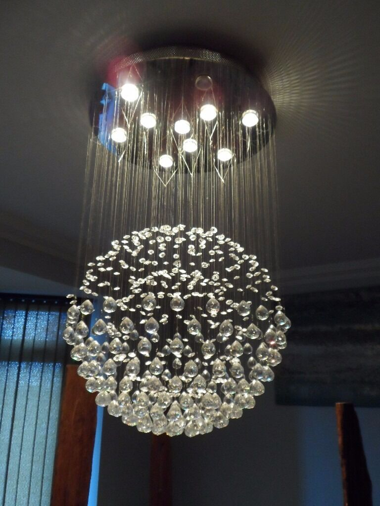 The Excelsior modern asfour crystal chandelier   in Hucknall ...
