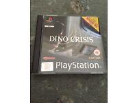 PlayStation 1 dino crisis game, original ps1