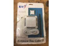 Tonecaller II Loud Indoor Ringer Easy Plug in Loud Extension not Bell New