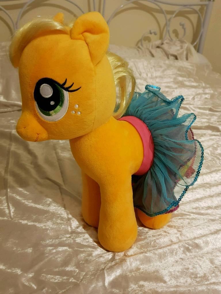 Build a Bear My little pony Apple Jack with tutu
