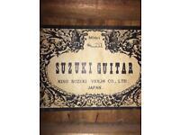 Suzuki guitar (made in Japan)