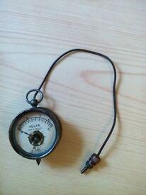 Vintage volt meter