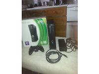 Xbox 360 Matt Black Slim 250gb + More