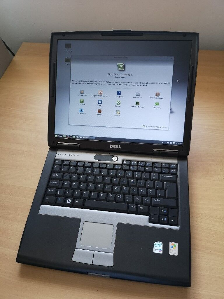 Dell Latitude D520 Laptop + charger + bag = ready to use set   in Skipton,  North Yorkshire   Gumtree