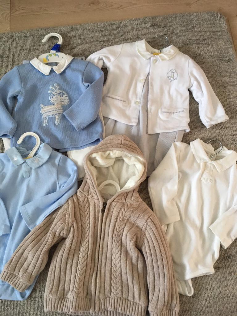 MAYORAL Baby Boy Bundle (sizes 4-12mths)